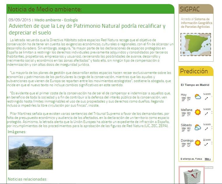 AGRICULTURA GANADERIA PESCA 9-09-15
