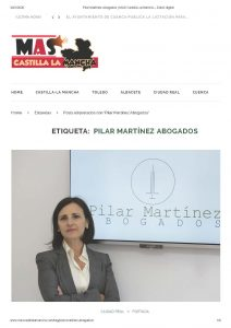Pilar Martínez, abogada